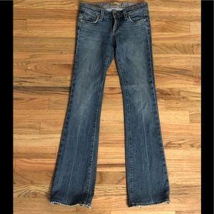 Paige laurel canyon boot cut jeans 25